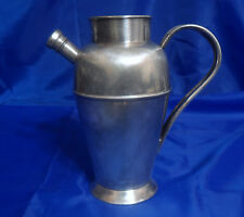 Vtg Bernard Rice'S Sons Apollo E.P.C. Silverplate Cocktail Shaker Model 8101/1