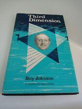 Vintage original magic card tricks book Roy Johnson Third Dimension 1977