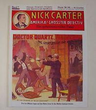 Nick Carter (Romanheftreprints, VK, Kühn, 0,30 DM) Nr. 1-25 zus. (neu)