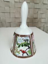 Imari Ware Japan porcelain bell, hand painted