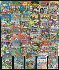 Archie's Giant Series Magazine #553-588 range lot of 29 (Archie 1985) Avg. 7.0