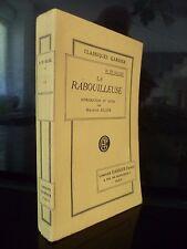 H.DE BALZAC LA RABOUILLEUSE M.ALLEM GARNIER PARIS SD BE IN 12