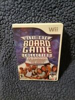 Ultimate Board Game Collection (Nintendo Wii, 2007) COMPLETE TESTED AND WORKING