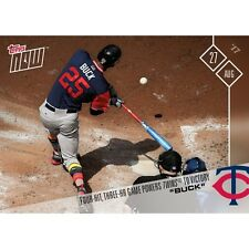 2017 Topps Now #527 FOUR HIT, THREE HR GAME POWERS TWINS TO VICTORY BYRON BUXTON