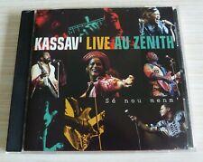CD ALBUM KASSAV' LIVE AU ZENITH SE NOU MENM 15 TITRES 1993