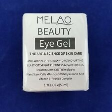 Eye Gel Moisturizer For Dark Circles, Puffiness, Wrinkles and Bags MELAO BEAUTY
