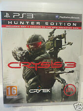 PlayStation3 PS 3 # Spiel CRYSIS 3 Hunter Edition USK18 Blu-ray Disc PS3 Spielen