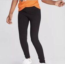 Girls' Leggings 2-Pairs - Cat & Jack Black Size 6X NWT