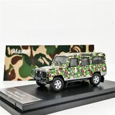 Master 1:64 Land Rover Defender 110 APE Camouflage Green Diecast Model Car