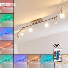 Plafonnier LED Lustre Design Moderne Lampe suspension Changeur de couleur Métal