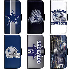 PIN-1 Dallas Cowboys Phone Wallet Flip Case Cover for Motorola