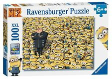 Ravensburger Despicable Me Minions & Gru Jigsaw 100 XXL Pieces BRAND NEW