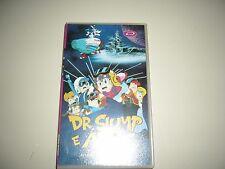 VHS DR. SLUMP E ARALE AVVENTURA NELLO SPAZIO DYNAMIC  ANIME MANGA DVD MANGA ANIM