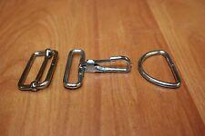 Accessoire Maroquinerie Mousqueton avec œil rectangle anneau Boucle Coulissante