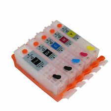 Refillable Ink Cartridge BCI-350 for Canon MX922 IP7230 MG5430 MG5530 with Chip
