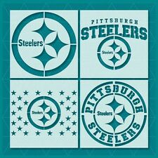 Pittsburgh Steelers Stencil - Reusable & Durable - 10 mil - Free Shipping