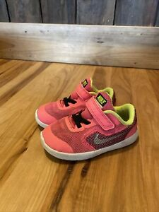 Girls Nike Revolution 3 Shoes Athletic Pink Children's US 7c