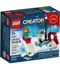 Lego Creator WINTER SKATING (40107) Holiday Ice Promo - New in Sealed Box