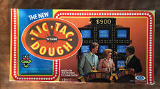 Vtg Tic Tac Dough Board Game Ideal 1977 Family Game Night