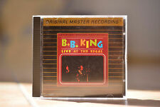 B.B. King Live at the Regal 24K Gold CD MFSL UDCD 548 Mobile Fidelity rare OOP