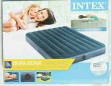 Intex Dura-Beam Standard Midnight Green Downy Air Bed, Double, Outdoor, Camping