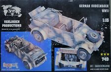 1/16 1/15 GERMAN KÜBELWAGEN WWII RESIN. VERLINDEN 749. NEW.