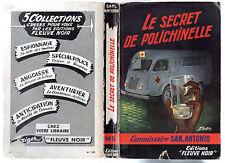 SAN-ANTONIO n°145 # LE SECRET DE POLICHINELLE # EO 1958
