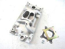 Small Block Chevy 350 Holeshot Vortec Intake Manifold Satin BPE-4004