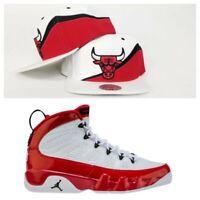 Mitchell & Ness Chicago Bulls snapback hat Jordan 9 Gym Red