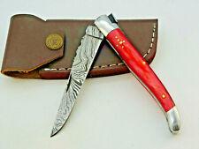 Laguiole-Damastmesser-Taschenmesser-Damast taschenmesser-Klappmesser -22cm-(S19r