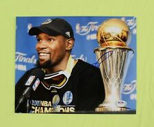 KEVIN DURANT KD WARRIORS Golden State FINALS MVP SIGNED 8X10 PHOTO PSA/DNA
