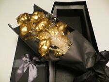 24k Gold Plated Roses (Roses dipped in 24k Gold Foil)