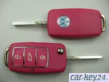 Rosa VW Golf IV Cabrio Passat 3B3 Bora Lupo Multivan Polo 3 Taste Llave Plegable