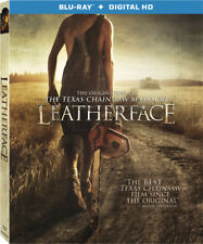 LEATHERFACE (2017) -  Region A - BLU RAY - Sealed
