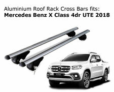 Roof Rack Cross Bars fits Mercedes Benz X Class Ute with roof rails 2018 Onwards