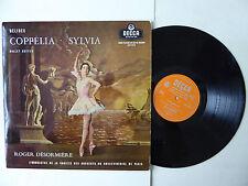 Delibes Coppelia Sylvia Ballet Suites Roger Desormiere Vinyl LP Decca LXT 5217