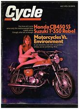 CYCLE JULY 1970 HONDA CB450 SS SUZUKI T-350 BULTACO SHERPA S MOTORCYCLIST WORLD