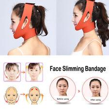Unisex Facial Thin Face Slimming Bandage Mask Belt Shape Lift Reduce Double Chin