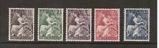 NVPH Netherlands Nederland 449 - 453 MLH ong 1946 Nationale hulpzegels Pays Bas