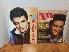 2 Elvis Presley Magazines The Legend Elvis &1989 Country Weekly Aug 15, 1995