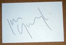 IAN GOUGH WALES RUGBY PERSONALLY SIGNED AUTOGRAPH INDEX CARD