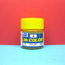Mr. Hobby #C4 Mr. Color Paint [gloss] Yellow PRIMARY (10ml)