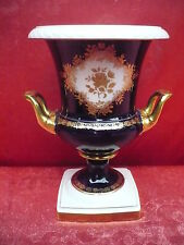 très jolie vase décoratif__Kaiser porcelaine__feu de foyer_véritable cobalt__24,