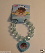 Disney DOC MCSTUFFINS Jewelry Bead Bracelet with Charm Blue  NEW