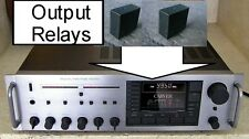 Audiophile Grade Gold Contact Output Relays to repair Carver Mxr-130 150 Fbr621D