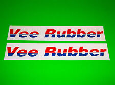 VEE RUBBER TIRES SCOOTER MOTOCROSS MOTORCYCLE STICKERS DECALS