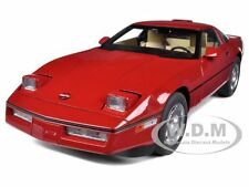 1986 CHEVROLET CORVETTE BRIGHT RED 1/18 DIECAST MODEL CAR BY AUTOART 71241