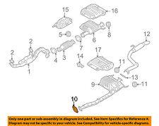 KIA OEM 06-10 Sedona 3.8L-V6 Exhaust-Catalytic Cnvrtr Gasket 287644D250
