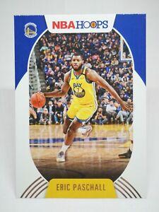 Panini Hoops 2020-21 N27 card NBA #68 Eric Paschall - Golden State Warriors