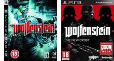 Wolfenstein & Wolfenstein el nuevo orden ps3 PAL
